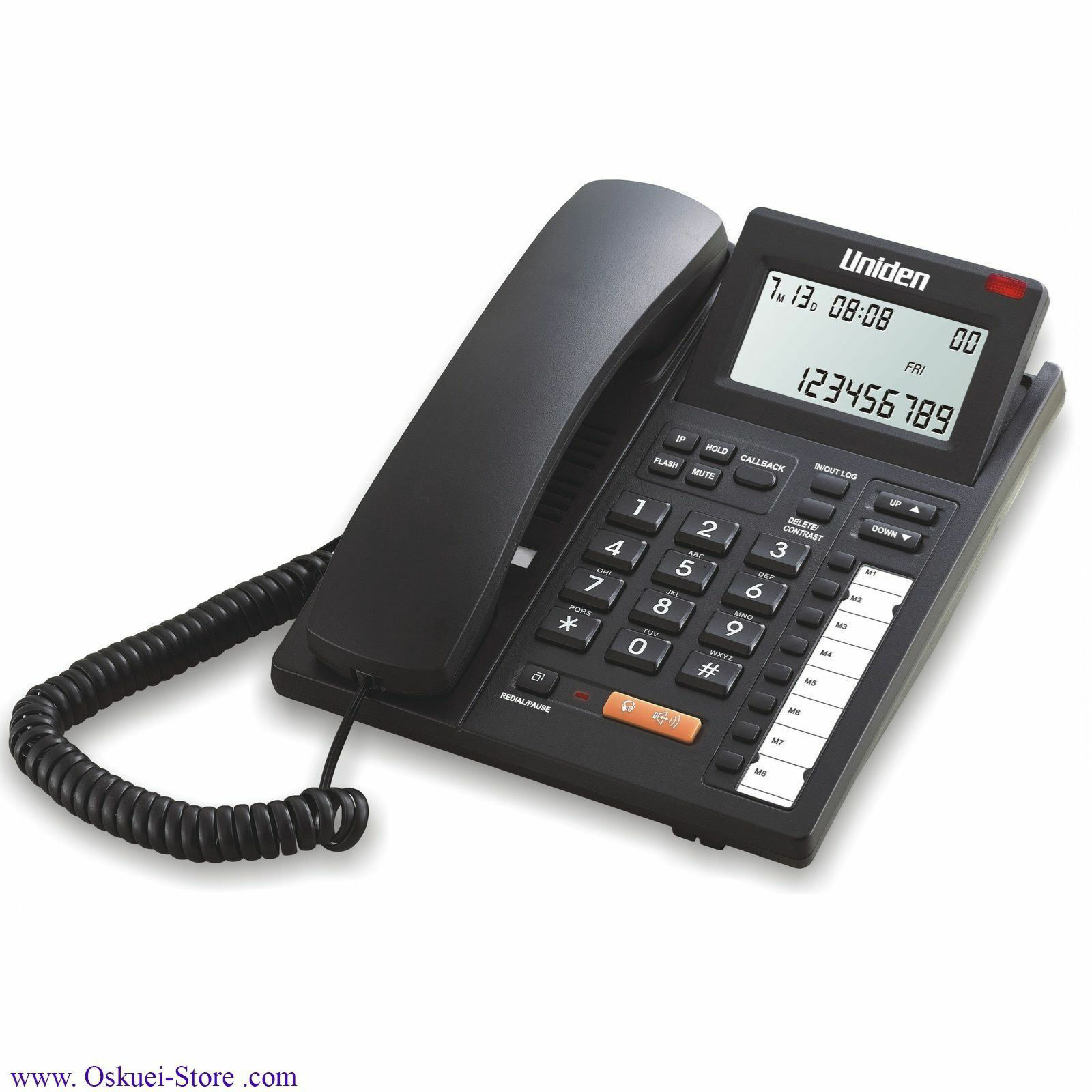 تلفن روميزي يونيدن مدل AS 7412