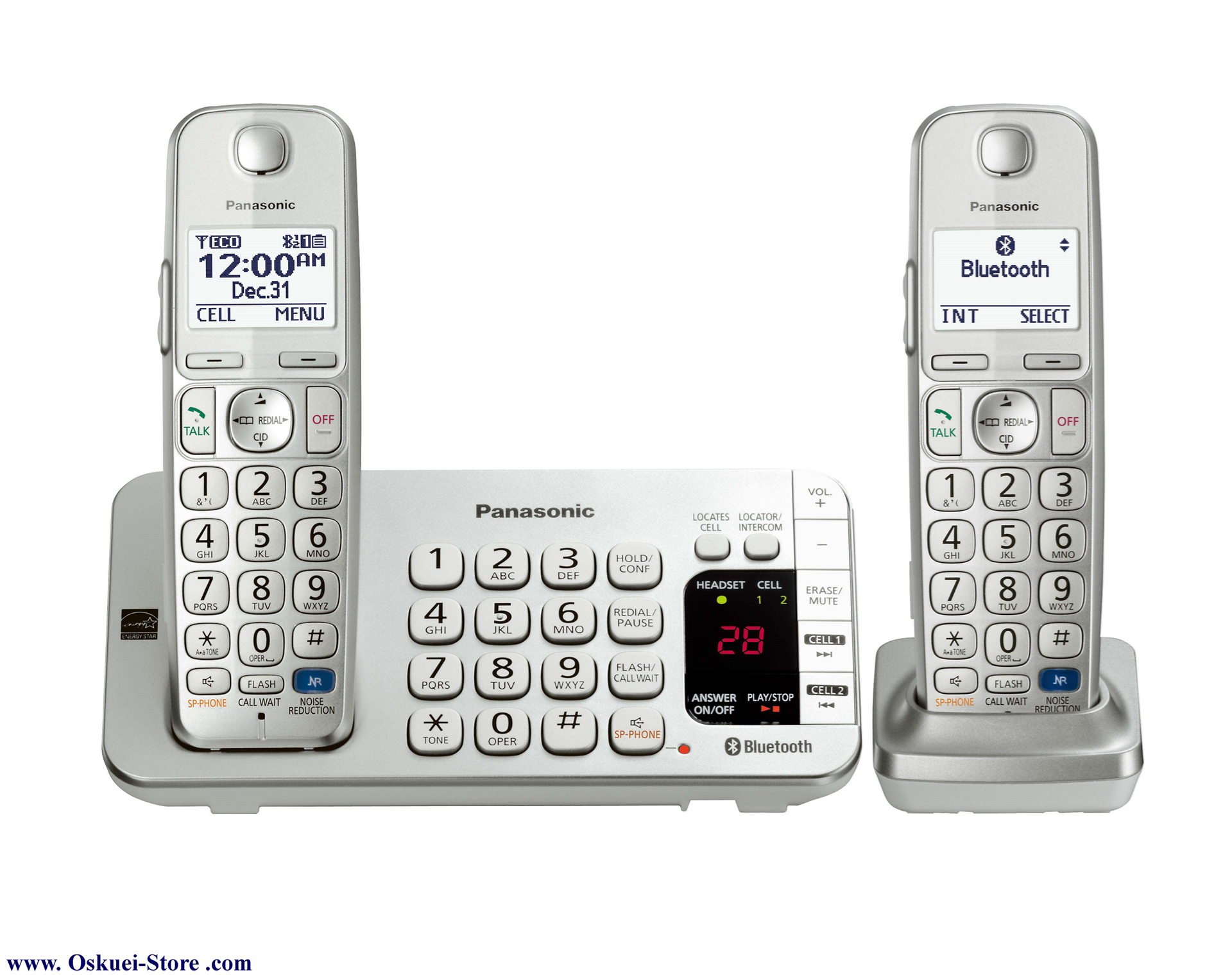 تصویر از تلفن بي سيم پاناسونيک مدل KX-TGE272