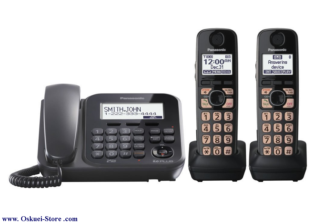 تصویر از تلفن بي سيم پاناسونيک مدل KX-TG4772 RB