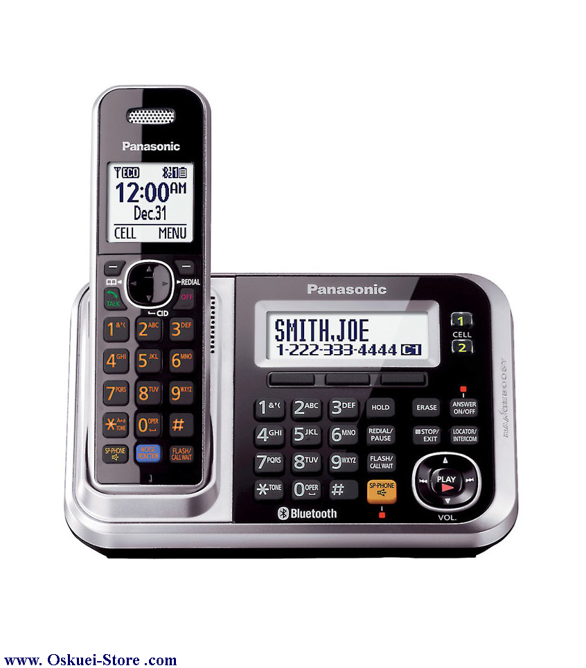 تصویر از تلفن بي سيم پاناسونيک مدل KX-TG7871 RB