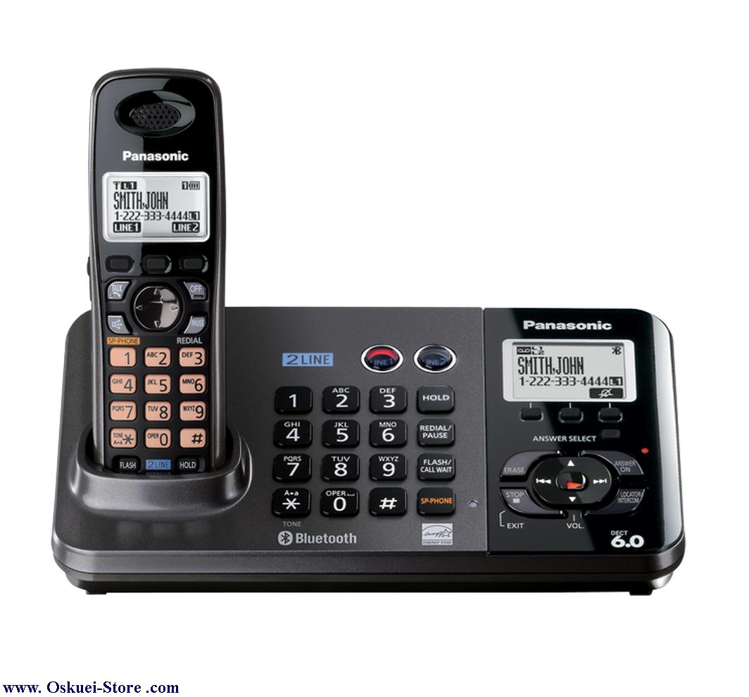 تصویر از تلفن بي سيم پاناسونيک مدل KX-TG9381 RB