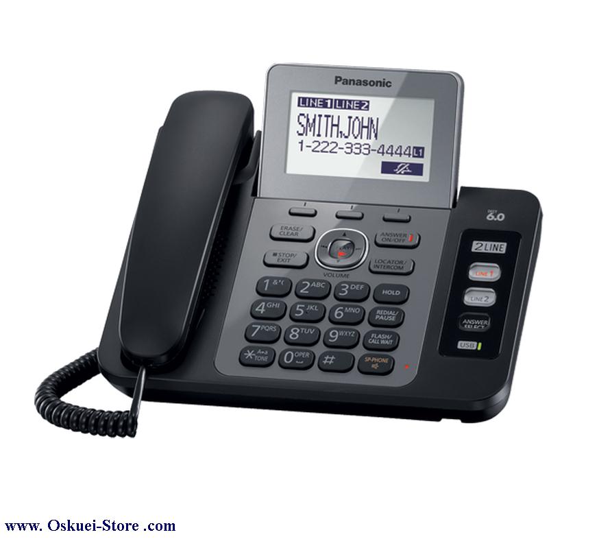 تصویر از تلفن رومیزی دو خط پاناسونيک مدل KX-TG9470 RB