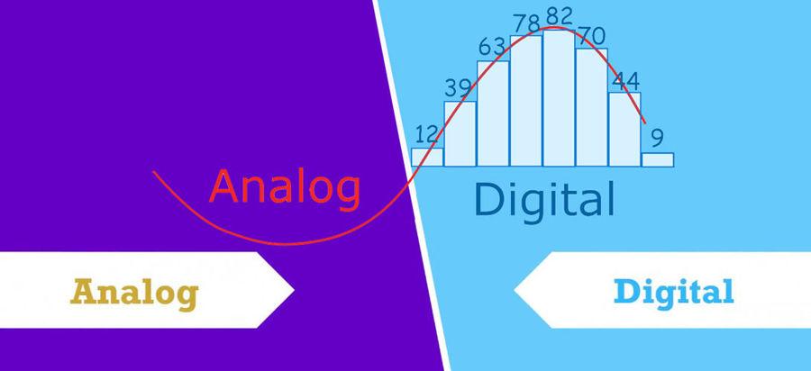 تفاوت صدای آنالوگ با صدای دیجیتال